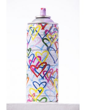 Spray Can - Coeurs Stencil