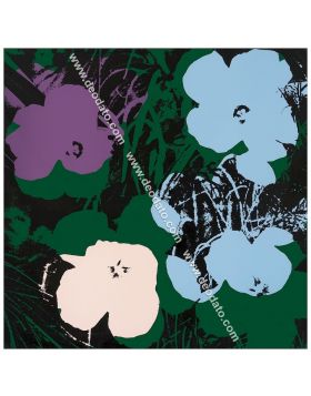Flowers -This Is Not By Me sérigraphie avec signature d'Andy Warhol