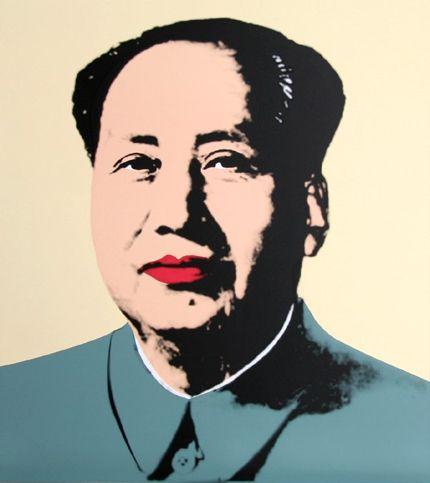 Mao Tse-Tung et le Pop Art d'Andy Warhol
