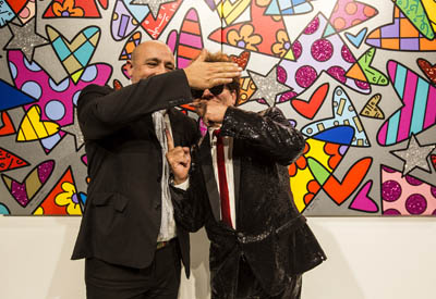 Romero Britto et Deodato Salafia