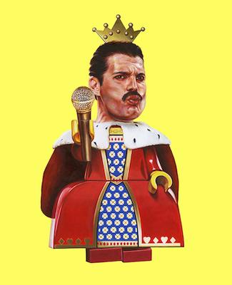 Exposition Josè Molina - A Heros Never Die - Freddie Mercury