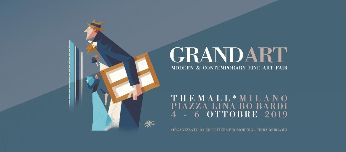 Foire d'Art Moderne et Contemporain GRANDART Milan 2019