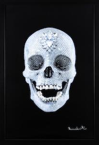 Pour l'Amour de Dieu -oeuvre de Damien Hirst en vente auprès GrandArt Milan dans le Stand 36 de Deodato Arte
