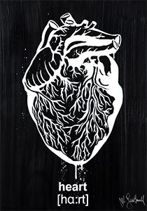 Mr Savethewall Oeuvre Heart Street Art