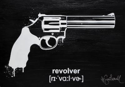 Pistola - Mostra Street Art Mr Savethewall International Language